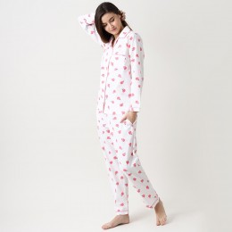 Women organic tiny florals pajama set