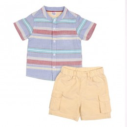 Adventure Time Boys Shorts & Shirt Set