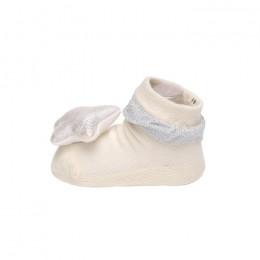 Creamy Starry Hearts 3D Socks -2 Pack