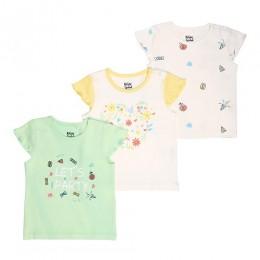 Party Princess Sleeveless Tshirts - 3 Pack