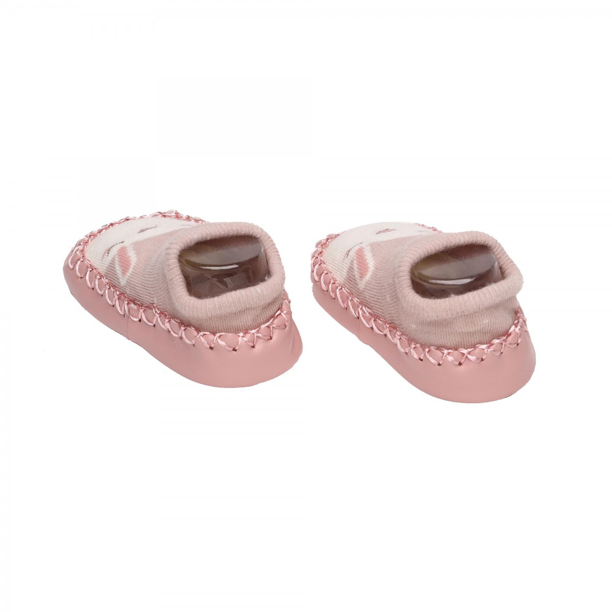 Smiling Shining Pink & Blue Booties - 2 Pack