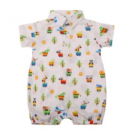 Animal Ride Boy's Romper
