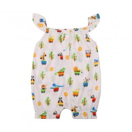 Animal Ride Girl's Romper
