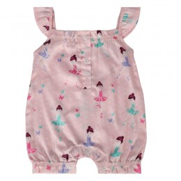 Ballet Dancer Girl's Romper