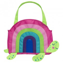 Beach Tote with Sand Toy Play Set - Rainbow Turtle