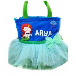 Blue Green Mermaid Tutu Bag