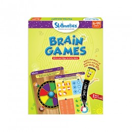 Brain Games | Write & Wipe Activity Mats