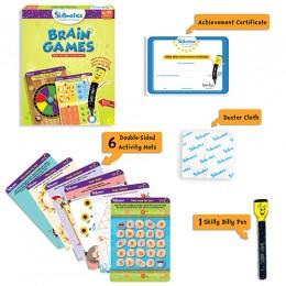 Brain Games | Write & Wipe Activity Mats