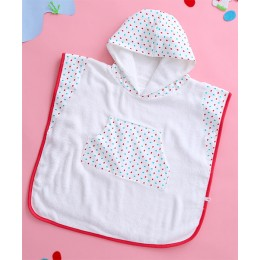 Hooded Poncho - Dotty