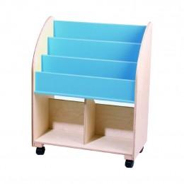 Kid's Wooden Bookshelf