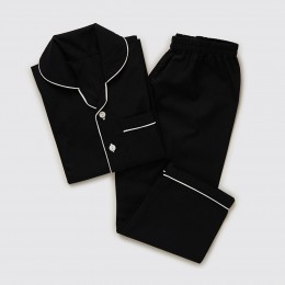 Men Classic Block Pajama Set