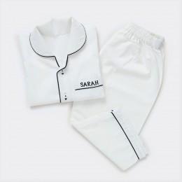 Classic White Pajama Set