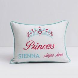 Princess Sleeps Here' Pillow