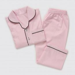 Women Classy Pink Pajama Set