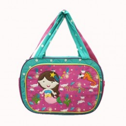 Mermaid Cotton Diaper Bag