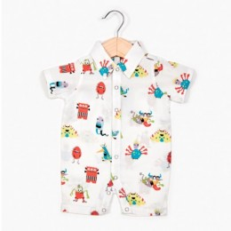 Monster Boy's Romper