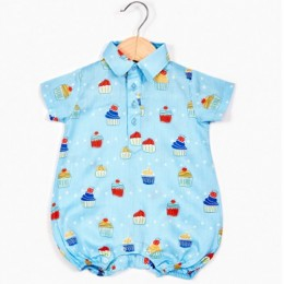 Muffin Boy's Romper