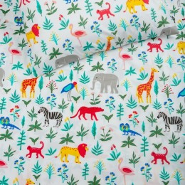 Organic Serengeti Crib Sheet