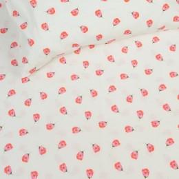Organic Tiny Florals Crib Sheet