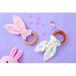 FOREST ANIMALS - BUNNY TEETHERS SET