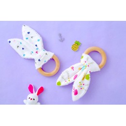 DINO PARTY - BUNNY TEETHERS SET