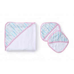 STROKES - BABY TOWEL SET