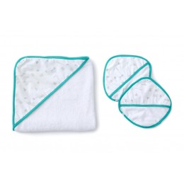 GEOMETRY - BABY TOWEL SET