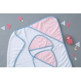 PINK ARRAY - BABY TOWEL SET