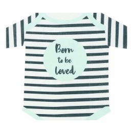 Born to be Loved BabyShaped Napkins