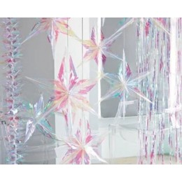Decadent Decs Iridescent Star Decoration