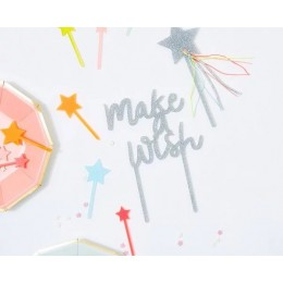 Make a Wish Acrylic Toppers