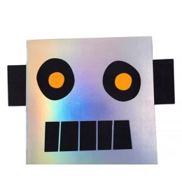 Robot Sticker & Sketchbook