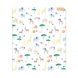 Safari Gift Wrapping Sheet Roll