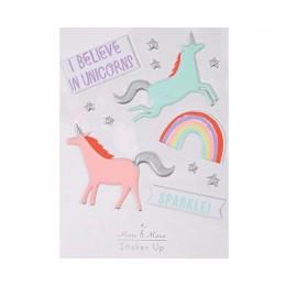 Unicorn Multipurpose Puffy Sticker