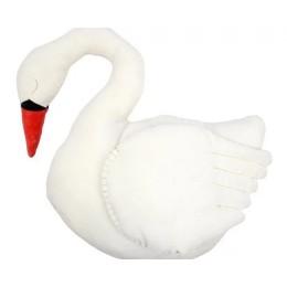 Velvet Swan Cushion
