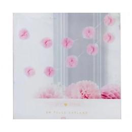 Pink Tulle Garland