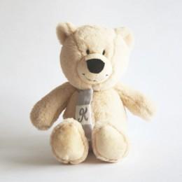 Personalized Teddy Grey