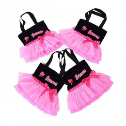Pink Black Princess Tutu Bag