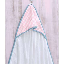 Pink Array - Hooded Towel
