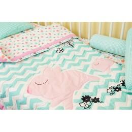 Pink Piggy - Bedding Set