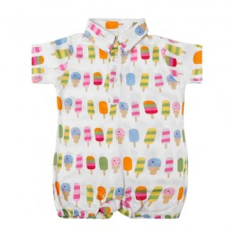 Popsicle Boy's Romper