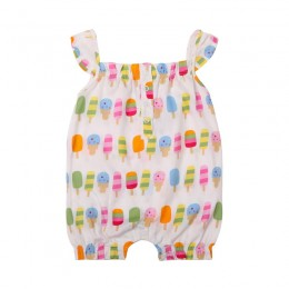 Popsicle Girl's Romper