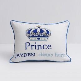 Prince Sleeps Here' Pillow
