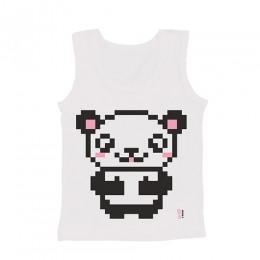 Rohan's Panda - Girl Vests