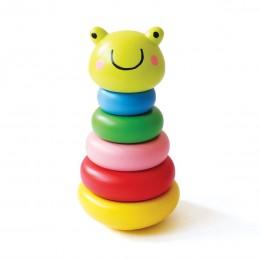 Frog Wooden Stacker