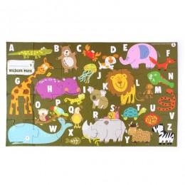 Animal Alpha Puzzle