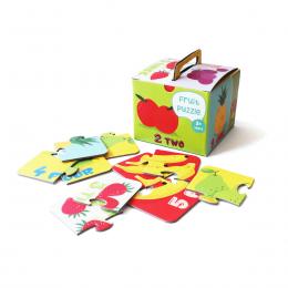 Farm puzzle Fruit puzzle - set of 6 puzzles