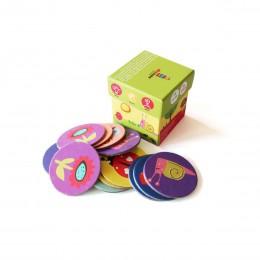 Spring Colors Memory Card Game