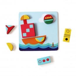 Shape Sorter Puzzle Boards