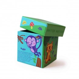 Forest Animal Memory Game